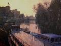 herebrug en boten - groningen