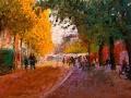 a-straat in herfst