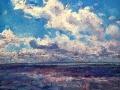 lucht boven de waddenzee