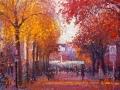 a-straat in de herfst 2