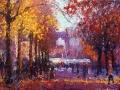 a-straat in de herfst