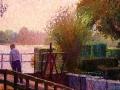 sluisje bij het paterswoldse meer