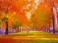 singel in herfst - groningen