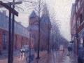 Der Aa kerk in regen klein