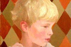 Gijs, 40 x 40 cm, 2005