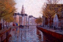 Hoge en Lage der Aa Groningen, 100 x 125 cm, 2007