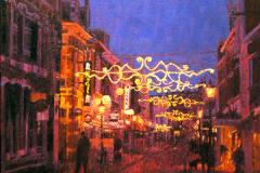 Kerkstraat Assen, 100 x 100 cm, 2007
