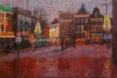 Grote Markt Groningen, 50 x 150 cm, 2008