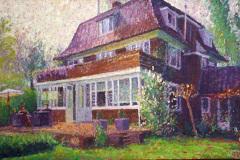 Huis in Eelde, 75 x 120 cm, 2011