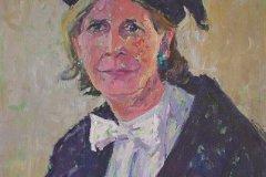 Portret van Lolkje de Jong, 50 x 75 cm, 2013