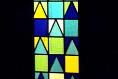 01Huizen - glas in lood in voordeur