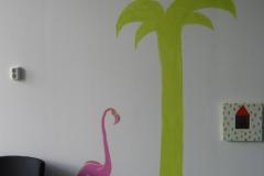09Muurschildering speelruimte - in opdracht van GGZ Jeugd Hoogezand