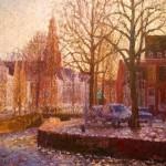 amalanderbocht - groningen - olieverfschilderijen 2012