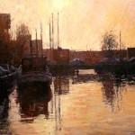 brug - leeuwarden - olieverfschilderijen 2009