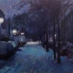 Eerste Sneeuw 1 - Annemiek Vos (werk)