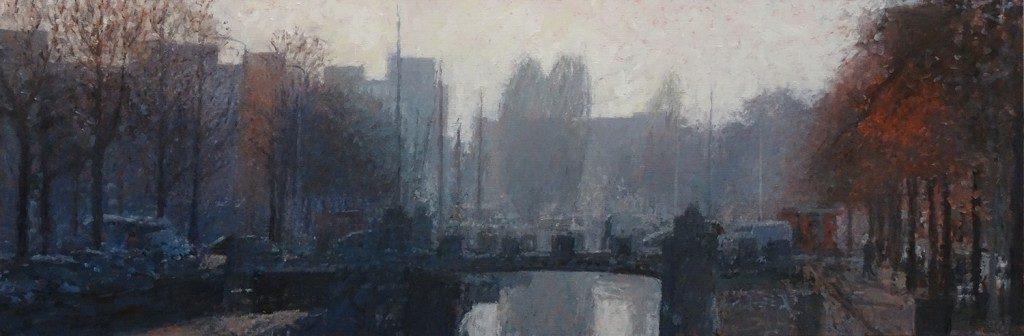 Oude Kijk in t Jatbrug 2 , 180 x 60 cm, 2016